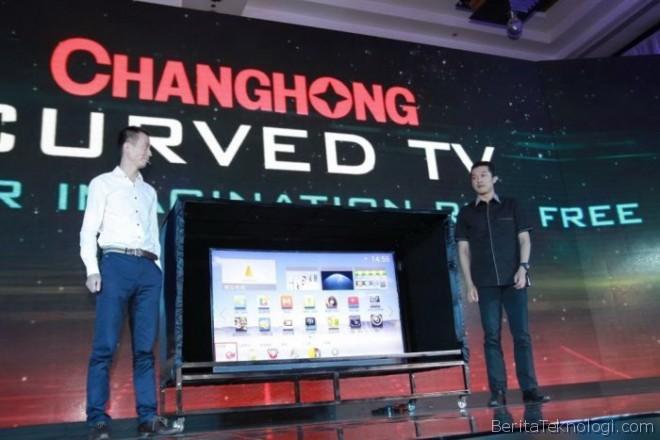 tv changhong Changhong Hadirkan TV Berlayar Melengkung dengan Resolusi Ultra HD ke Indonesia dengan Harga Mulai dari 39 Juta Rupiah