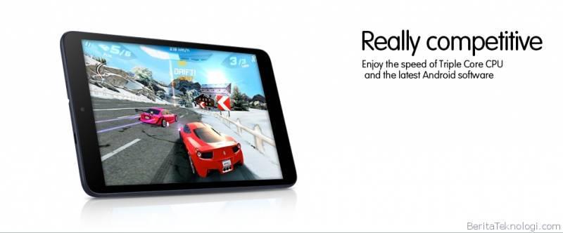 alcatel pixi 8 Alcatel Hadirkan Tablet Pertama di Dunia yang Menggunakan Prosesor Tri core dengan Kecepatan 1,2GHz