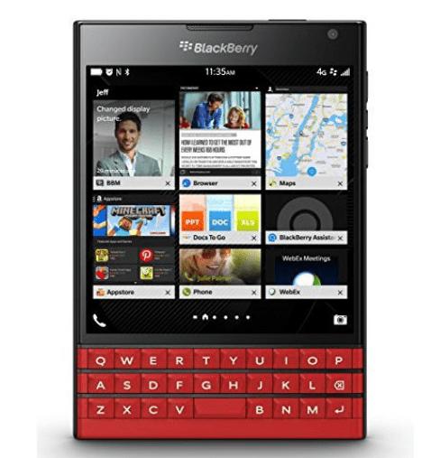 BlackBerry-Passport-in-Red