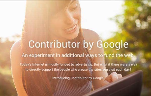 google contributor Google Contributor, Layanan Berlangganan Baru untuk Menghilangkan Iklan dari Situs Favorit
