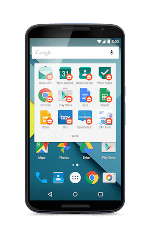 Google Luncurkan Layanan Android for Work