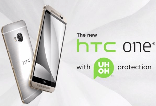 htc one m9 uh oh