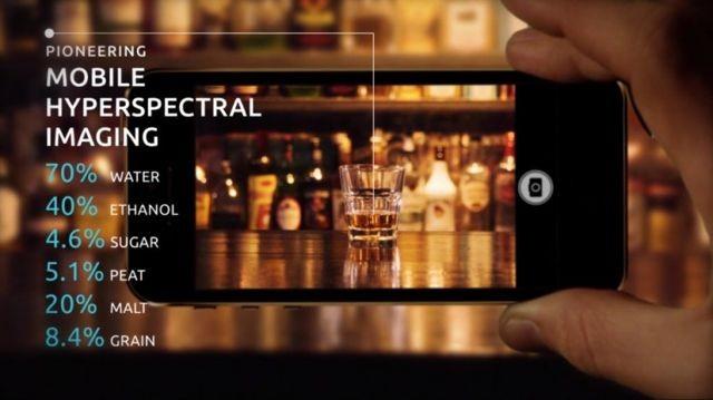 kamera spektral