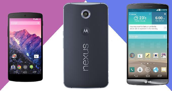 Nexus 5 dan Nexus 6