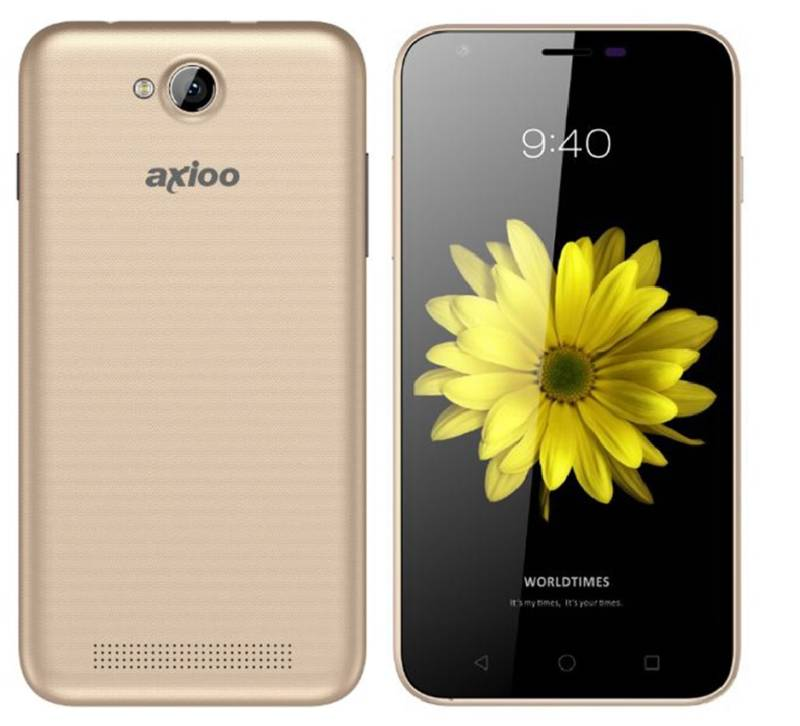 Axioo Picophone front back