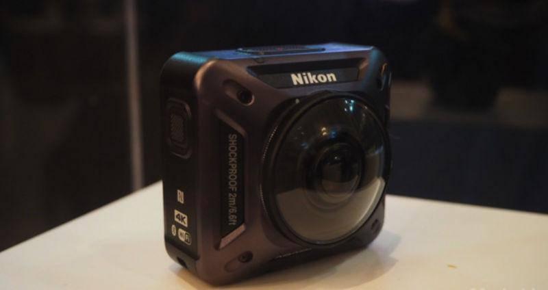 Nikon KeyMission action cam (Kredit: Mashable)