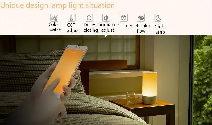 Xiaomi Yeelight Indoor Smart Night Light 16 Million RGB 3