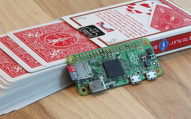 Raspberry PI Zero (Kredit: Telegraph)