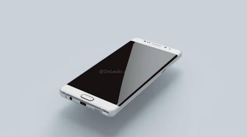 Render Samsung Galaxy Note 7