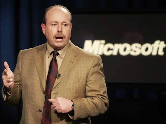 Mantan COO Microsoft Kevin Turner (sumber gambar: businessinsider)