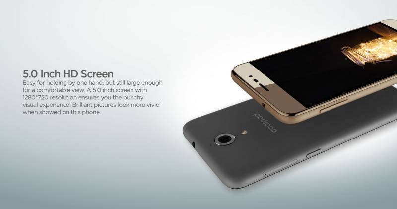 Coolpad Power screen
