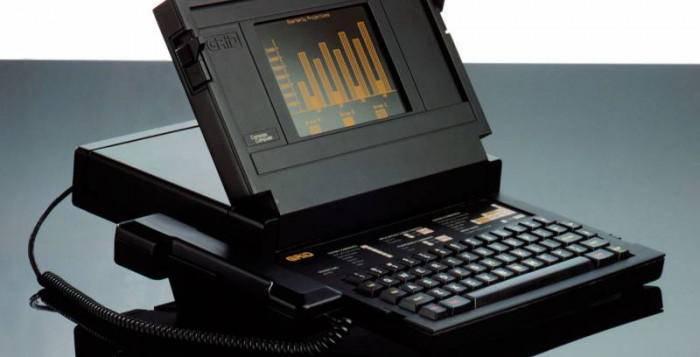 laptop pertama dunia, Compass buatan John Ellenby
