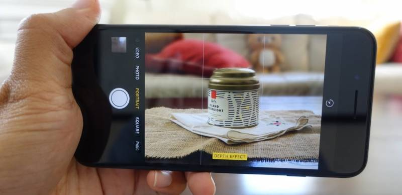 Mode Potrait pada iPhone 7 Plus (Gambar: 9to5Mac)