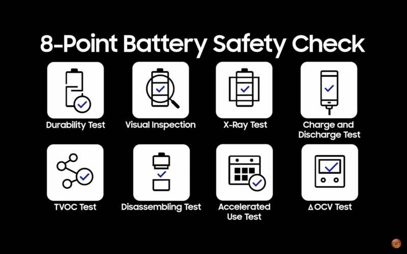 8 point battery chek