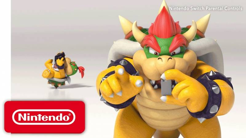 Nintendo Switch parental control