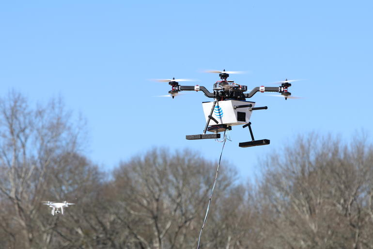 drone at&t