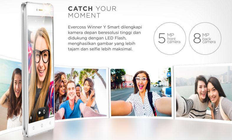 evercoss y smart kamera selfie bagus murah