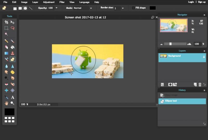 pixlr editor foto gratis