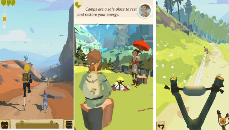 the trail android game
