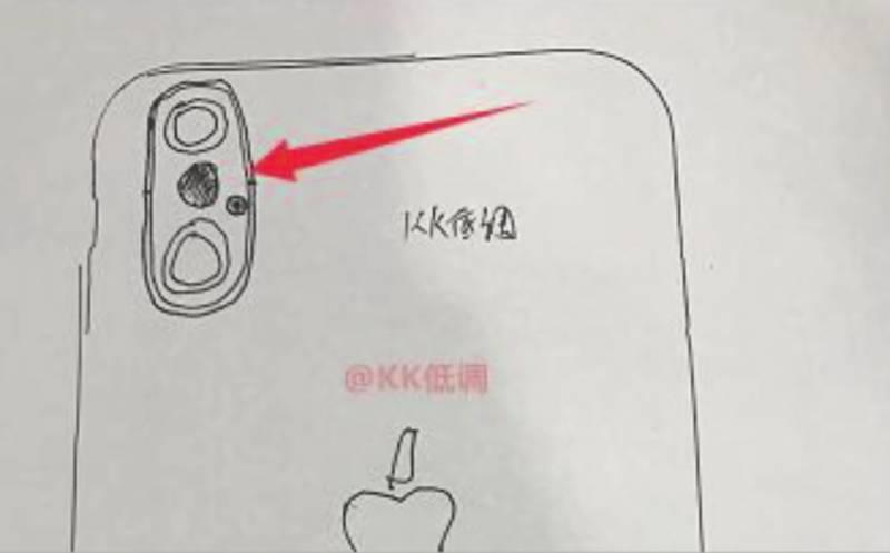 Sketsa iPhone 8 3
