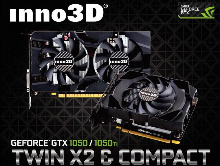 Inno3D Geforce Gtx 1050 00