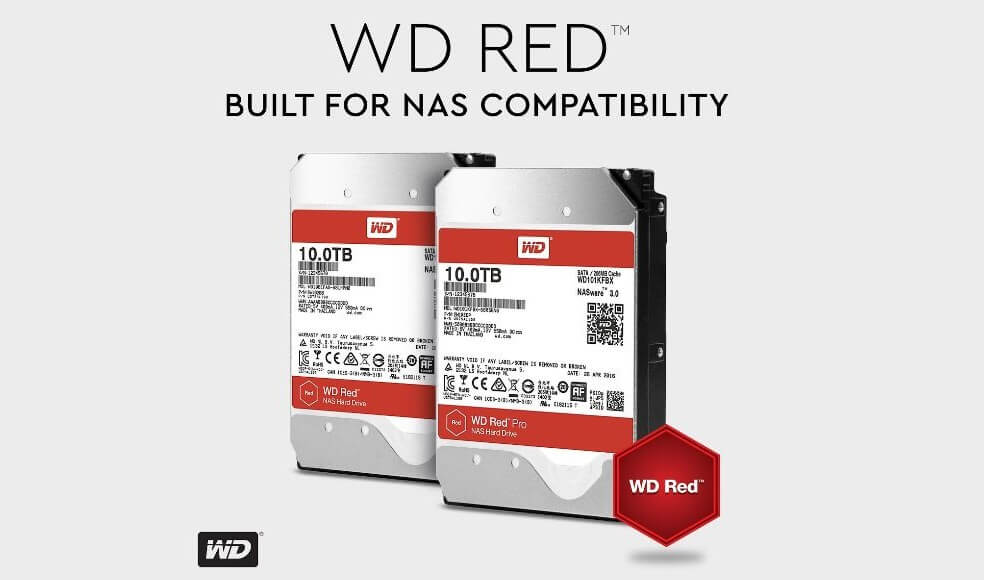 WD RED 10TB 00