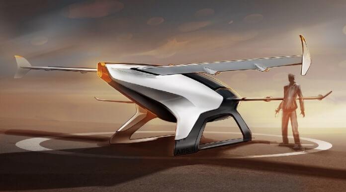 mobil terbang airbus