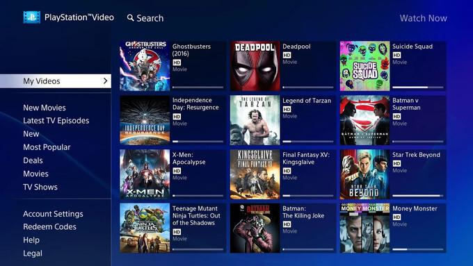 PlayStation™Video Android TV 00