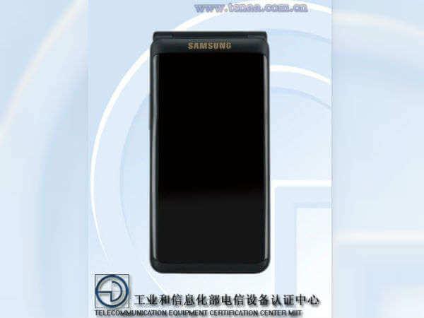Samsung Flip Phone TENAA 1