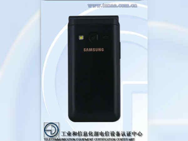 Samsung Flip Phone TENAA 2