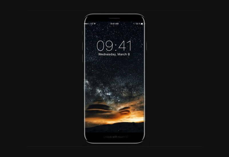 Render iPhone 8 (Kredit: Gizmochina)