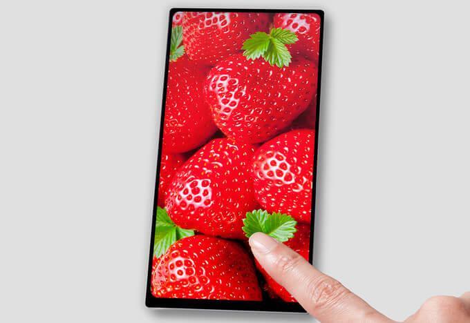 Gambar layar LCD Full Active JDI