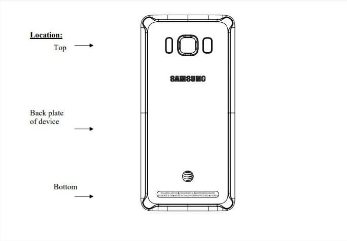 samsung galaxy S8 Active rugged FCC