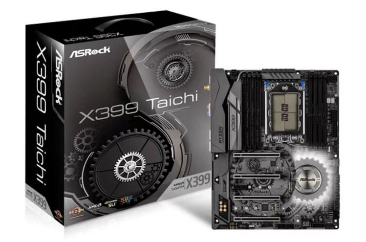 Taichi unggulan terbaru besutan ASRock yang dipamerkan untuk kali pertamanya di ajang Com Motherboard ASRock X399 Taichi Dengan Dukungan Ryzen Threadripper Mulai Dipasarkan