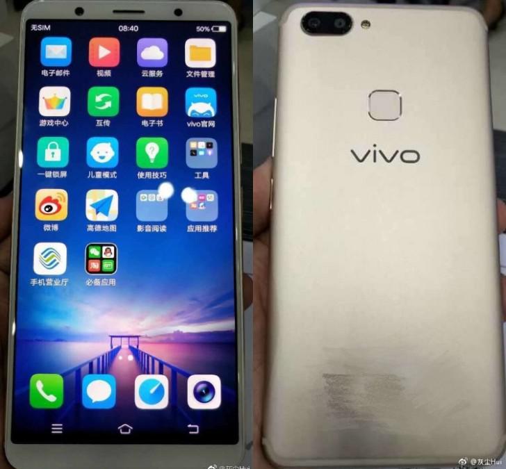 Foto Ini Perlihatkan Wujud Vivo X20 Dengan Tampilan Full Screen